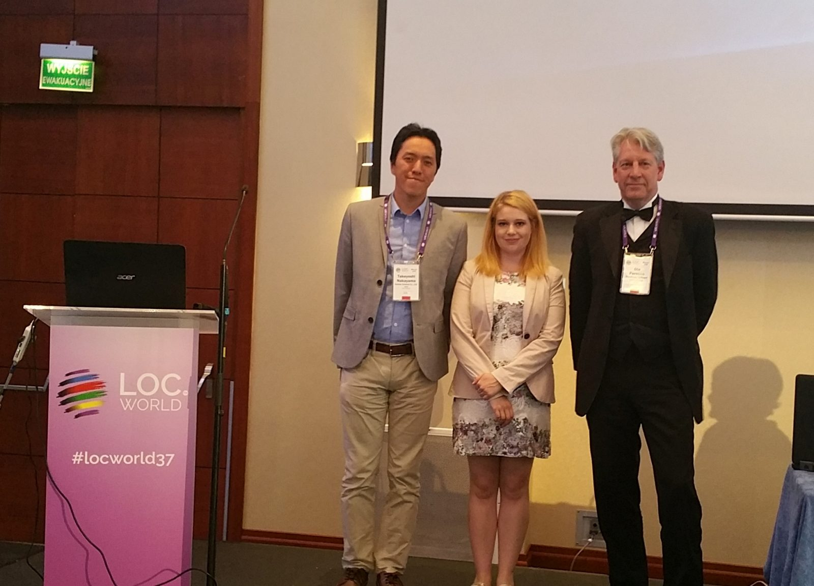 Ola Persson wins the PIC #4  final at LocWorld Warsaw in June 2018
