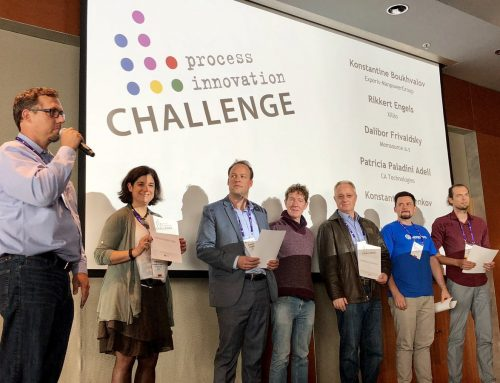 Rikkert Engels wins the 5th Process Innovation Challenge